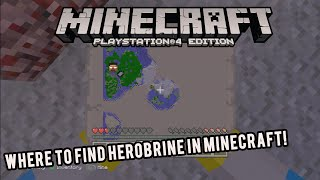 HOW TO SIN HEROBRINE MINECRAFT 100% REAL PS3/XBOX 360 / PC EASY TUTORIAL REALLY WORKS 2015 HD