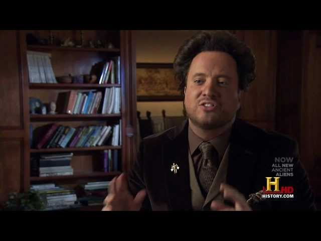 Giorgio Tsoukalos on The Sword in the Stone