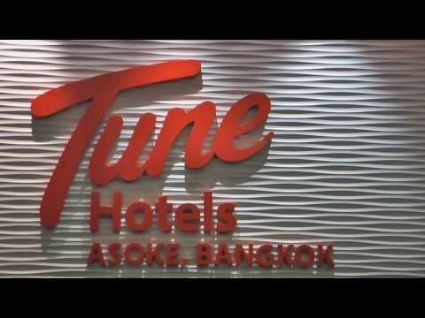 Tune Hotel Asoke on Sukhumvit Road in Bangkok – HD