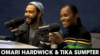 Omari Hardwick & Tika Sumpter Talk New Movie & Omari's Run In With A Crazy Fan