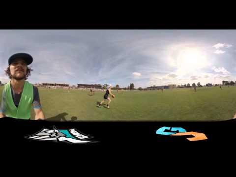 Port Adelaide training (360 video)