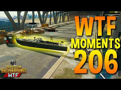 PUBG Daily Funny WTF Moments Highlights Ep 206 (playerunknown's battlegrounds Plays)