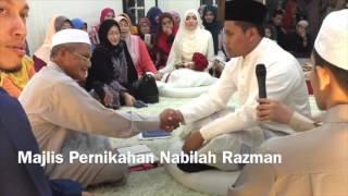 Majlis Pernikahan Nabilah & Razman
