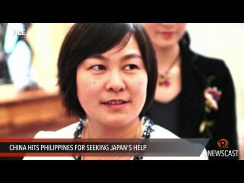 China hits Philippines for seeking Japan's help