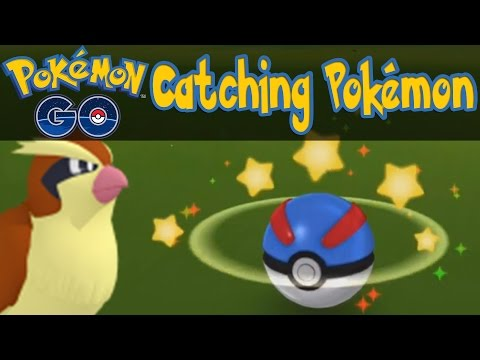 Pokemon GO - How To Catch Pokemon! [Pokemon GO iOS/Android Tips & Tricks]