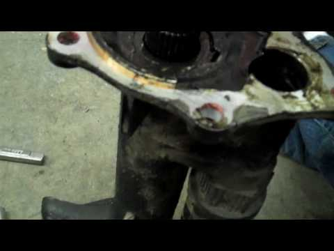 2002 Chevy Tahoe Front Right Axle Seal How to Replace