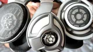 Sennheiser HD700 Headphone Unboxing