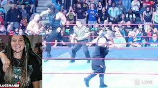 WWE Raw 9/12/16 Roman Reigns vs Owens