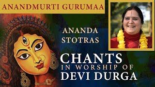 Shri Durga Stotras - Mahishasura Mardini Stotra, Durga Dwatrinsha Naamamala Stotra, Durga Ashtottara Shatanamavali
