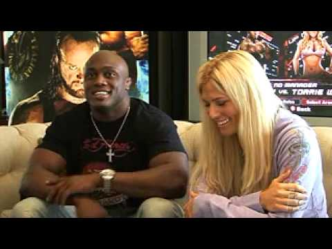 WWE Smackdown vs Raw 2008 - Torrie Wilson interview