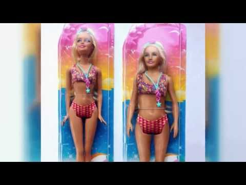 More Realistic-Looking Barbie Doll