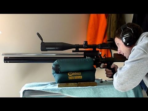 Mac1 USFT Hunter PCP Air Rifle - Accuracy and Overview