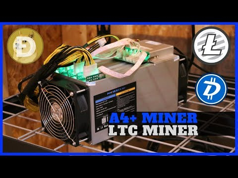 Innosilicon A4+ Scrypt LTC ASIC Miner Review - Most Energy Efficient ASIC + A6