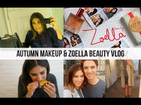 Autumn Makeup & Zoella Beauty Vlog // Lily Pebbles