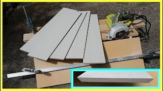 How to make a simple Jig to cut 45 degree tile edges