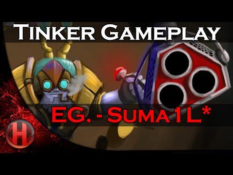 UNBELIEVABLE COMEBACK EG.- Suma1L * Tinker Gameplay Dota 2