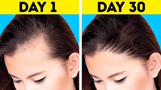 18 HAIR HACKS FOR THIN HAIR AND HAIR GROWTH