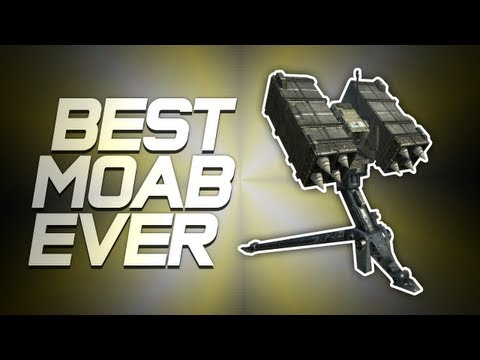 World's First SAM Turret MOAB! (BEST MW3 MOAB EVER!)