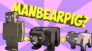 Hybrid Animals Creature Lab! MAKING MANBEARPIG (Let's Play Hybrid Animals Gameplay)