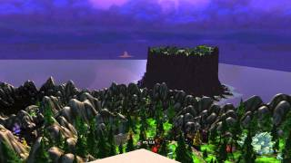 World of Warcraft - 2560x1600 at 15,000 view distance with no fog using Machinima Tool 3.24