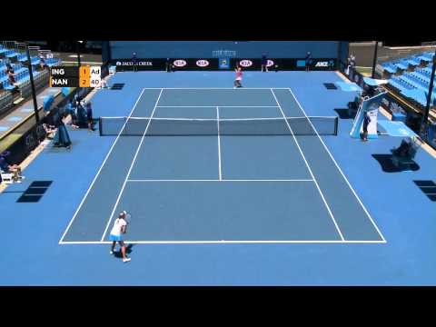 Maddison Inglis vs Alexandra Nancarrow [7] - Australian Open 2015 Play-off Highlights
