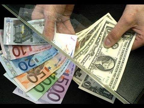 Ecroulement de la monnaie. le dollar ou l'euro