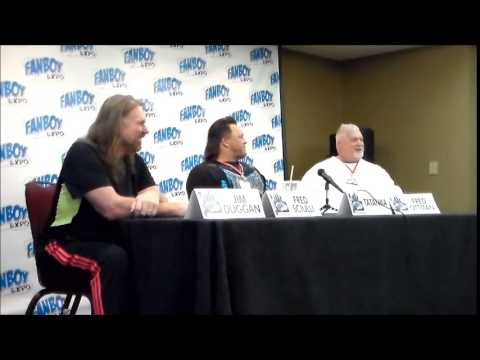 Q&A With Wrestling Superstar@Fanboy Expo Tampa 2014
