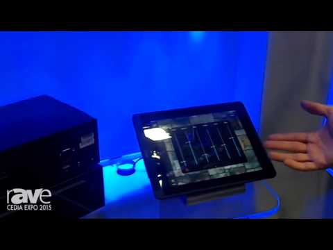 CEDIA 2015: Key Digital Shows KD-MXA8X8Pro Audio Matrix Switcher with Custom Compass Control GUI