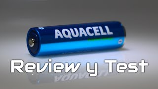 Aquacell, la pila que se carga con agua [Review & Test]