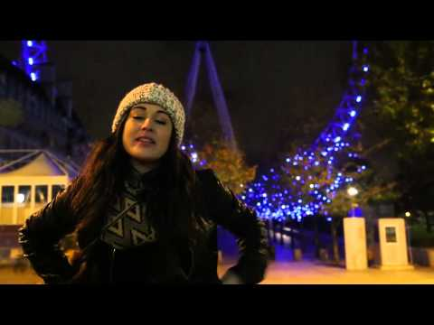 the London Eye - Ebony Day - London Teen Hoot video