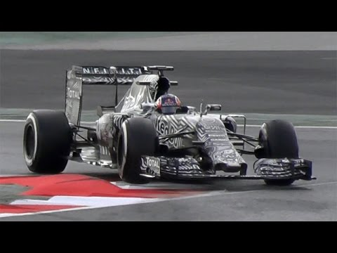 F1 2015 Barcelona Test V6 Turbo Sound
