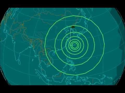 EQ3D ALERT: 5/30/16 - 6.2 magnitude earthquake in the East China Sea