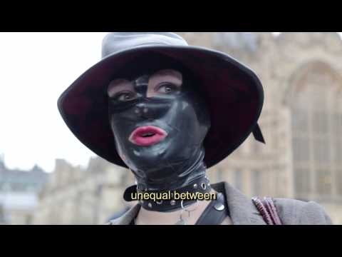 Outlawing The Female Orgasm: Porn Protest In London, 12 Dec 2014 video