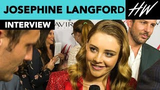 """After"" star Josephine Langford Spills All About Hero Fiennes-Tiffin Lake Scene!  