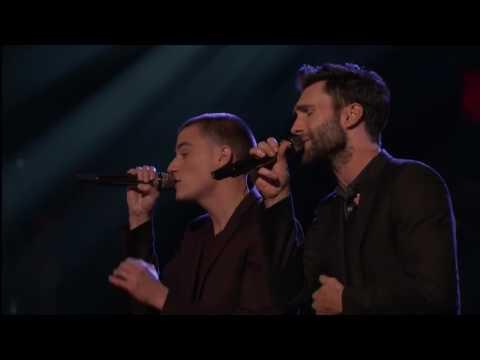 Adam Levine & Chris Jamison -