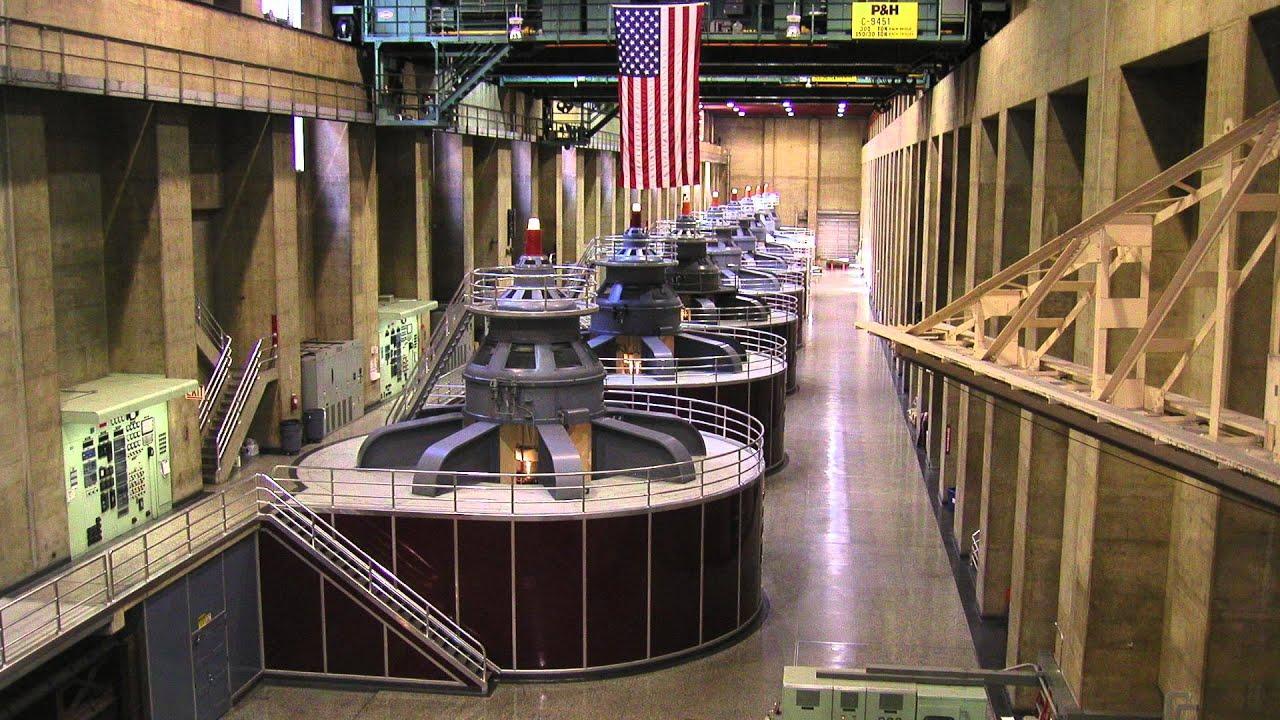 Inside hoover dam