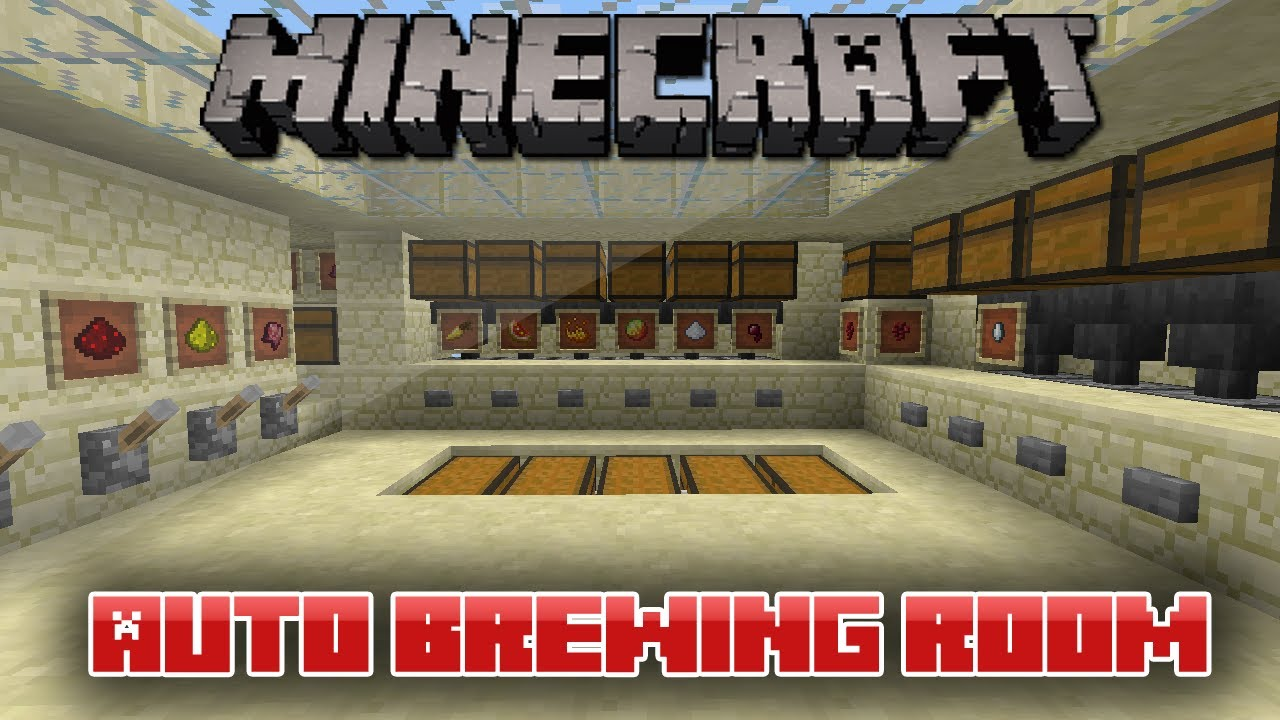 how to make a bruwing stand minecraft 1.12