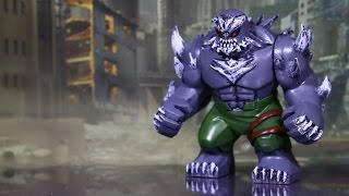 Doomsday LEGO Custom (Superman) Big Hulk Minifigure