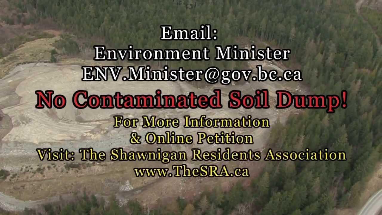 Shawnigan Lake Fishing Shawnigan Lake no Toxic Soil