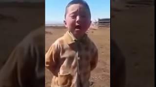 Chinese kid sing dangal song