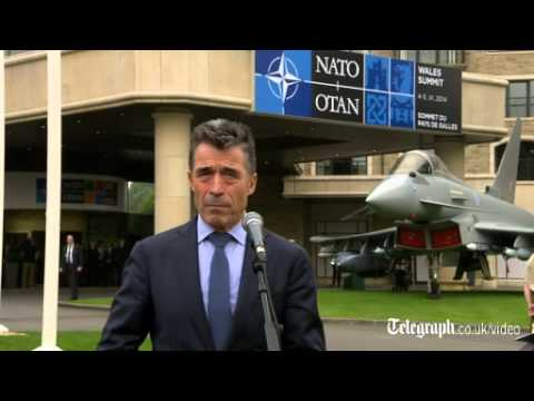Nato chief: 'we still seeing Russian involvement in Ukraine'