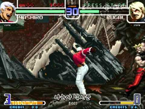 Kof2002 O.yashiro Vs. Cpu Rugal