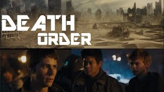 The Scorch Trials - DEATH ORDER
