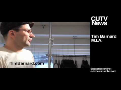 M.I.A. Born Free   Tim Barnard Part 1 of 2 - CUTV News - April 30 2010