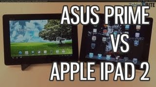 Asus Transformer Prime vs Apple iPad 2 comparison - best tablets of the moment