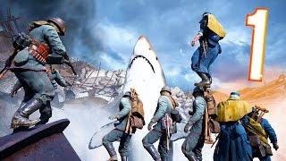 Battlefield 1 - Random & Funny Moments #22 (Megalodon, Under The Map!)