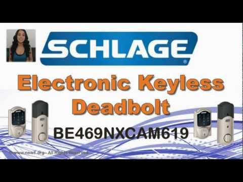 Schlage Deadbolt - Schlage Electronic Deadbolt Review