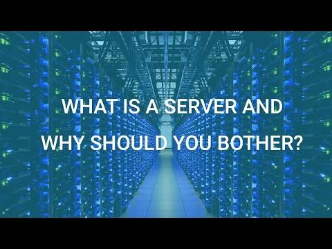 Что такое сервер и как его создать?[Сетевое программирование]