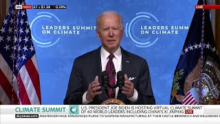 Watch live: President Joe Biden hosts Earth Day summit with 40 world leaders