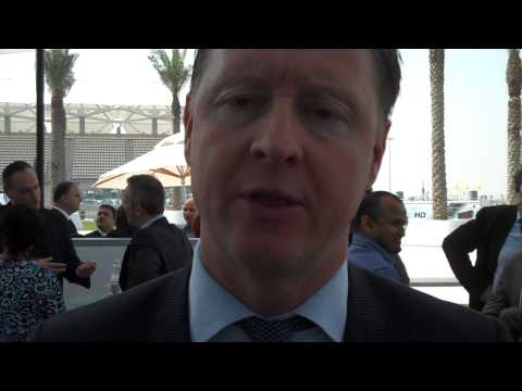 Hans Vestberg, President and CEO or Ericsson at Abu Dhabi Media Summit 2010